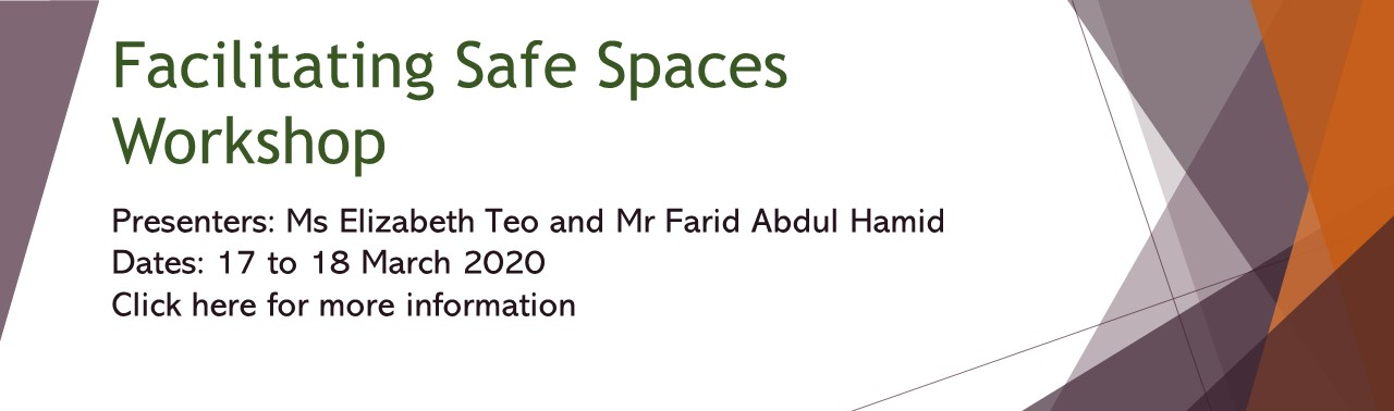 PD banners 2020 - Facilitating Safe Spaces